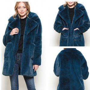 Lux Faux Fur Coat